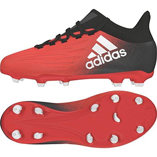 adidas Unisex-Kinder X 16.1 Fg Fußballschuhe rouge/blanc/noir