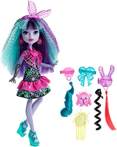 Monster High DVH71 - Mostramiche Look Elettrizzante Twyla