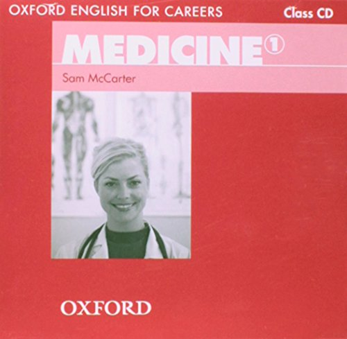 Oxford English for Careers: Medicine 1: Class Audio CD por Harry Styles