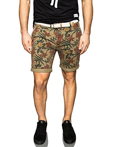 bellfield-bulmer-overdye-floral-print-shorts-khaki-small-30-waist