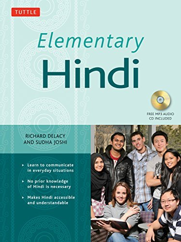 Elementary Hindi: (MP3 Audio CD Included) by Richard Delacy (2014-08-19)