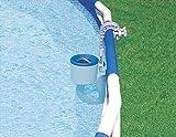 Intex Einhängeskimmer Deluxe, grau/blau, Ø 16 cm