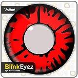 'Blink eyez; Incredibile; Vampire Volturi lenti a contatto;Perfetto per costumi di Halloween, Carnevale, Feste e Costume. zero Power obiettivo uso quotidiano.Vampire ; Zombie Il Giorno dei Morti