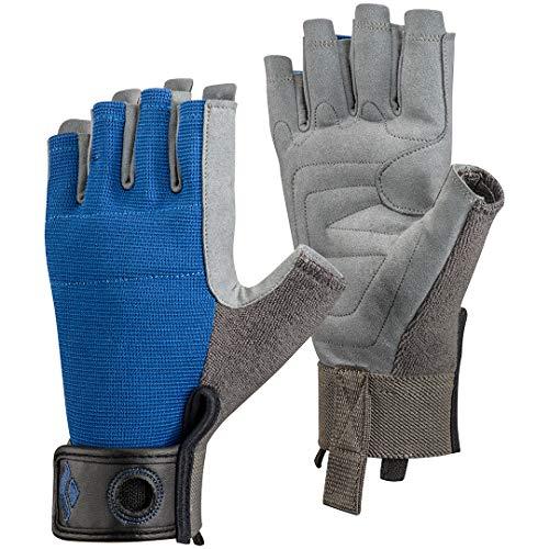 Black Diamond Erwachsene Handschuhe Crag Half Finger Gloves, Cobalt, M