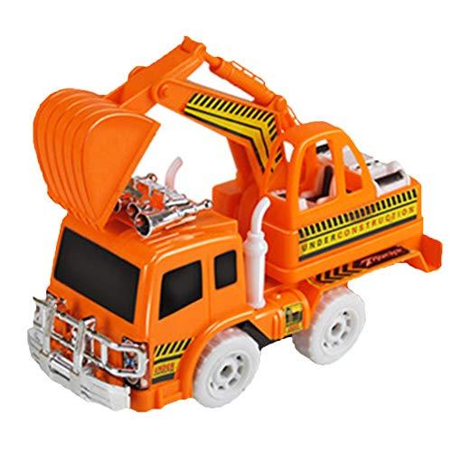 yibenwanligod Mini Kinder Jungen Elektrischer Bagger Engineering Van Spielzeug Musik Sound Fahrzeug Modell Spielzeug - 2 #