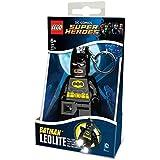 LEGO DC Comics - Llavero Ledlite con diseño de Batman, color negro (812752L)