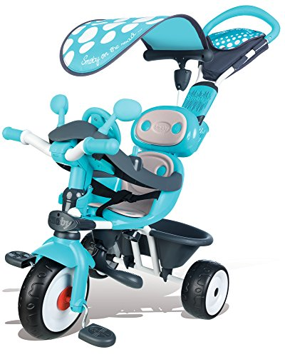 Smoby - 740601 - Baby Driver Confort - Tricycle Evolutif avec Roues...