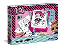 Clementoni 18559 Clementoni-18559-LOL-Trace and Draw-Art Kids from 6 Years and Older-Paper Craft-Girl, English, Multicolored