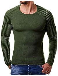 Btruely Herren_camisetas Camiseta Hombres, 2018 Moda Camisa Casual para Hombres Slim Fit Manga Corta Moda
