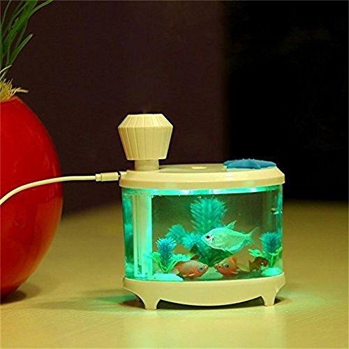 Luftbefeuchter, Gerhannery 460ml Aquarium USB Luftbefeuchter mit LED ...