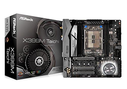 MB ASRock X399M Taichi TR4 M-ATX DDR4 Retail Ati Radeon Intel