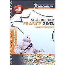 Mini atlas France 2013 Michelin (Anglais) de Collectif Michelin ( 10 novembre 2012 )