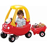 Little Tikes Classic Cozy Coupe With Cozy Trailer