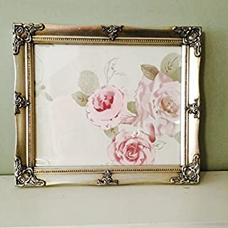 Vintage Style Ornate Silver Gilt A4 Picture Frame