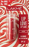 Lakme Lip Love Lip Care, Cherry, 3.8g (Now at Rupees 20 Off)