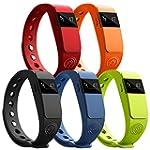 NINETEC Smartfit Fitness Tracker Blue...