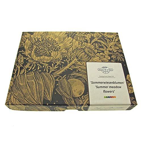 prati estivi di fiori - set regalo di semi con 5 varietà per un prato fiorito coloratissimo