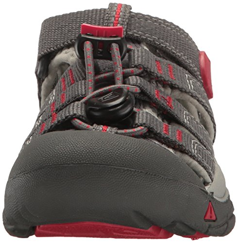 Keen Newport H2 - Sandales - gris 2017 Magnet/Tango Red