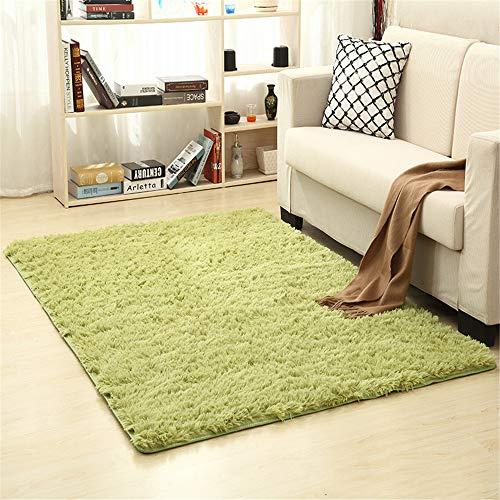 Songhj moquette in poliestere lavato in seta rettangolare rettangolare assorbente antiscivolo tappeto per la decorazione domestica