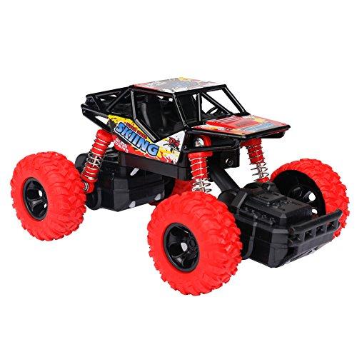 ad Monster Truck Geländewagen mit Licht, Musik, Gummireifen, Stoßfest mit Feder, Maßstab 1:32, High Speed Buggy Auto Kinderfahrzeug Spielzeug für Jungen und Mädchen ab 3 Jahren ()
