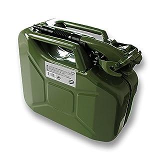 Kanister Metall Kohlenwasserstoffe Typ US 10L + Ausgießer : Autoselect
