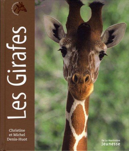 Les Girafes. Portraits d'animaux
