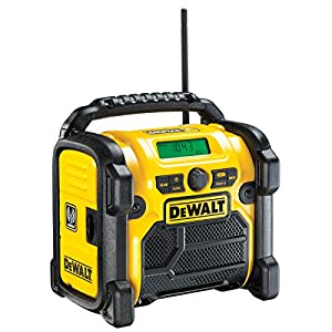 DeWalt DCR020-GB – Compacto Jobsite Dab Radio