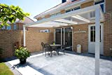Terrassenüberdachung Polycarbonat Überdachung 300x250 Trendline