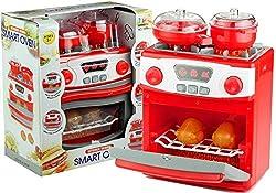 Kind Mikrowelle Spielzeug Geschirr Ofen Simulation Haus K/üche Elektrisches Timing Kunststoff F/ür Rollenspiele