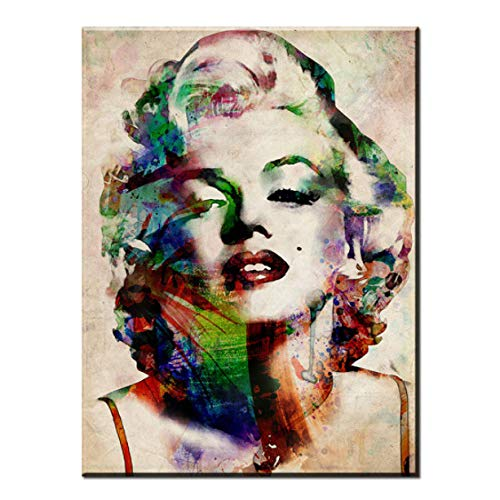 89354c92c98 LAKD Painting Marilyn Monroe Oil Antique Room Water Color Prints Printed  Poster Deco On Canvas No
