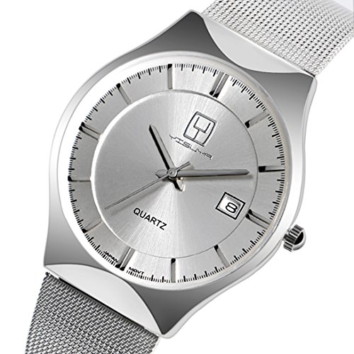 yisuya-mens-silver-ultra-thin-date-display-quartz-business-watch-with-stainless-steel-mesh-bracelet-