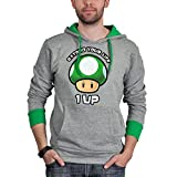 Sweat capuche 'Nintendo' Extend your life - Gris (Grey) - XS