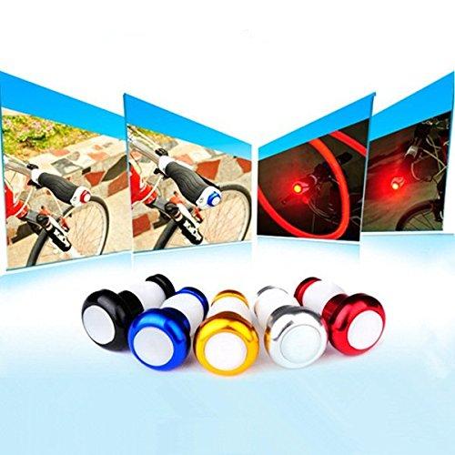 Bazaar Bar fine manubrio della bicicletta luce ciclismo LED spine segnali di sicurezza