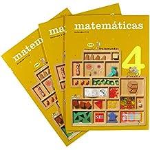 Matemáticas. 4 Primaria. Nuevo proyecto Trotamundos. Trimestres - 9788467541526