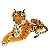 REFURBISHHOUSE Tigre De Felpa De Simulacion Artificial para Ninos Juguetes De La Muneca De Tela De Piel Artificial