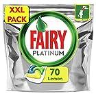 Fairy Platinum Dishwasher Tablets Lemon, 70 Tablets
