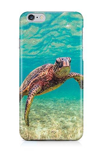 COVER Schildkröte Tier Unterwasser Design Handy Hülle Case 3D-Druck Top-Qualität kratzfest Apple iPhone 6 Plus (Iphone6 Schildkröte Case)