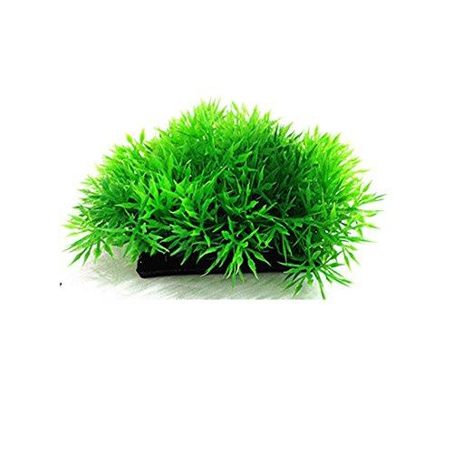 Runrun 1PCS della pianta Artificiale acquatiche Acqua Verde Erba Prato Acquario Fish Tank Paesaggio