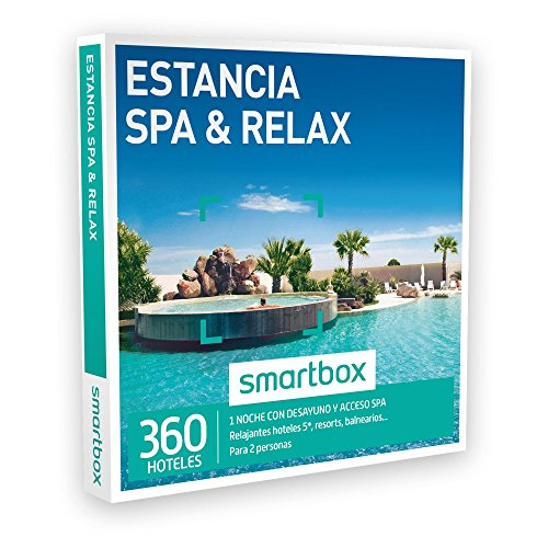 SMARTBOX – Caja Regalo – ESTANCIA SPA & RELAX – 360 relajantes hoteles 5*, resorts, balnearios en España, Andorra, Italia y Francia