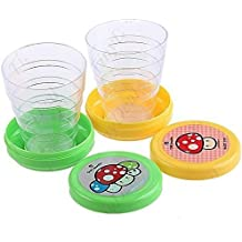 Homiki Plastique Pliable Pliable Magic Cup Lot de 2 pièces