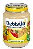 Bebivita Apfel-Banane-Zwieback, 6er Pack (6 x 190 g)