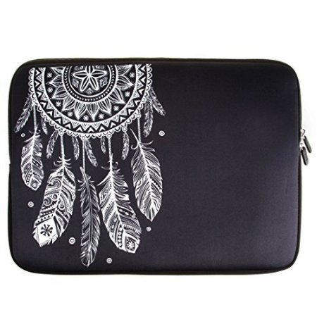 Leathlux Dream Catcher 13.3 Pollici Impermeabile Morbido Case Cerniera Involucro Sleeve Protettiva Custodia Borsa Per PC tablet e portatili / Laptop / Notebook / Ultrabook / MacBook Air / MacBook Pro con display da 13.3""