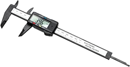 Strumento di misura calibro a corsoio digitale per misurazione calibro righello 150mm/15,2cm