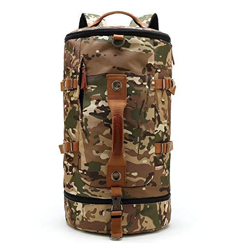 CoolBell umwandelbar Sport Rucksack Tasche Herren Umhängetasche Messenger Bag Business Aktentasche leicht Schultertasche Travel Backpack Reisen Tasche Passend 17,3 Zoll Laptop(Grün) -