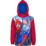 Marvel Spiderman Kinder Winterjacke, Art. 3383, rot, Gr. 104