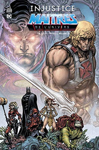 Dc Deluxe - Injustice Vs les Maitres de l'Univers par Seeley  Tim
