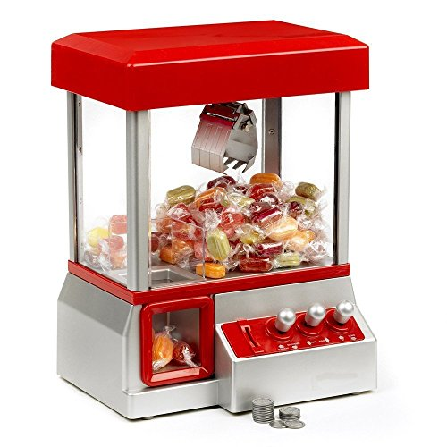 Brigamo®448 - Inklusive Süßigkeiten: Candy Grabber Komplettset inkl. Kinder® Schoko Bons, Süßigkeiten Automat thumbnail