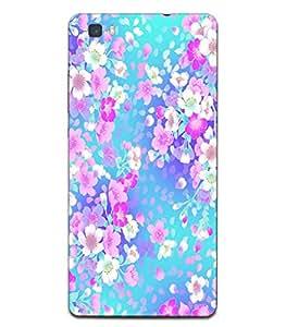 Fonokart Premium Huawei Honor P8 Designer 3D Printed Matte Finish Slim Unique High Quality Case Slim Lightweight Back Cover Hard Case