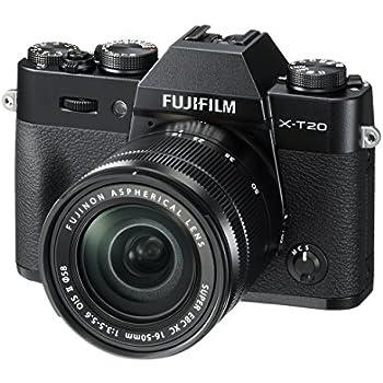 """Fujifilm X-T20- Cámara EVIL de 24 MP (pantalla de 3"""", visor electrónico, resolución máxima 4K ) negro - kit cuerpo con objetivo XC 16-50 mm F3.5-5.6 OIS II"""