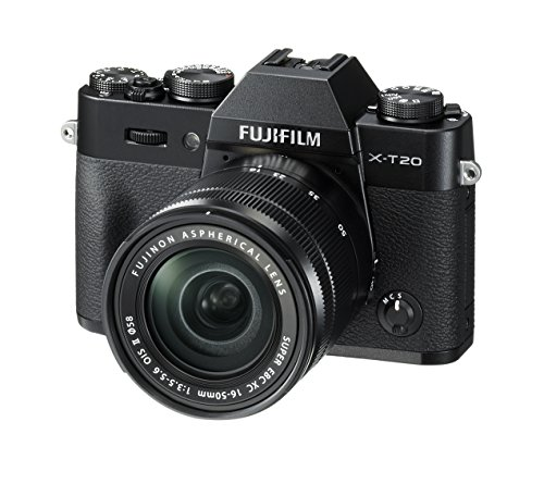 Fujifilm X-T20 with XC 16-50 mk II lens (Black)